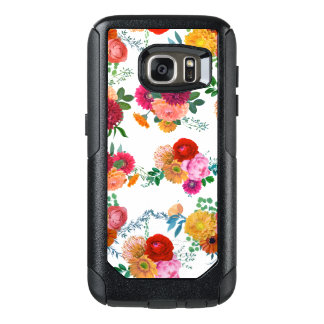 Colorful Spring Flowers Illustration OtterBox Samsung Galaxy S7 Case