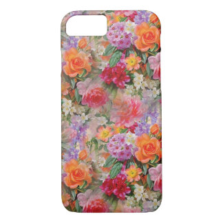 Colorful Spring Flowers iPhone 8/7 Case