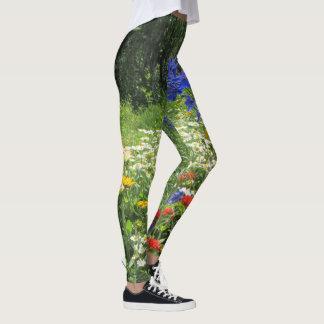 Colorful Spring Garden! Leggings