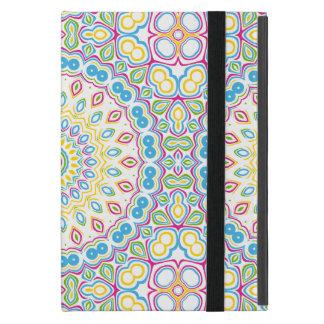 Colorful Spring Mandala Medallion Case For iPad Mini