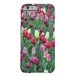 Colorful spring tulips barely there iPhone 6 case