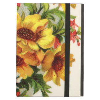 Colorful Springtime Flower Bouquet iPad Air Case