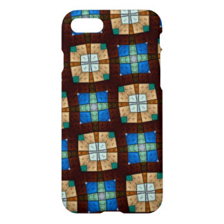 colorful square brick pattern iPhone 8/7 case