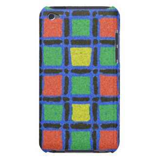 Colorful square pattern iPod Case-Mate cases