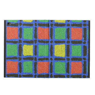Colorful square pattern powis iPad air 2 case