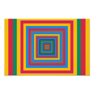 Colorful squares abstract design photo