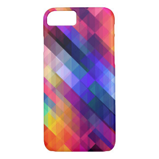 Colorful Squares Geometric Abstract Pattern iPhone 8/7 Case