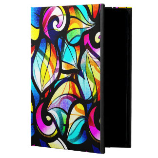 Colorful Stained Class Illusion iPad Air Cover