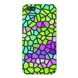 Colorful stained glass pattern cover for iPhone 5/5S