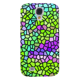 Colorful stained glass pattern galaxy s4 case