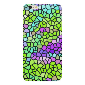 Colorful stained glass pattern iPhone 6 plus case