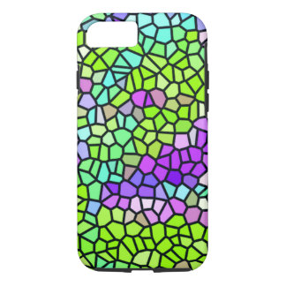 Colorful stained glass pattern iPhone 8/7 case