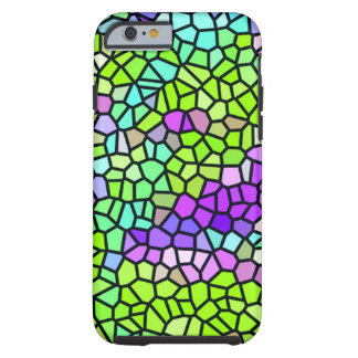Colorful stained glass pattern tough iPhone 6 case