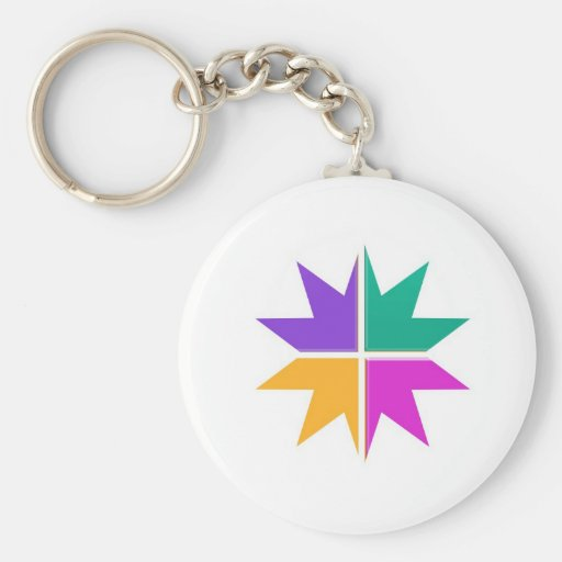 COLORFUL STAR champ winner LOWPRICE STORE GIFTS Keychain