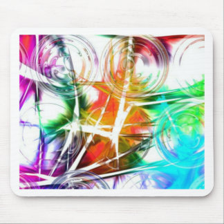 Colorful Star Design Mousepad