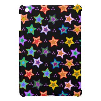 Colorful star pattern iPad mini cover