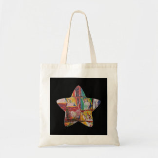 Colorful star statue of liberty bag