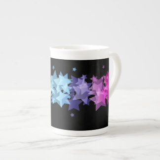 Colorful Stars Bone China Mug