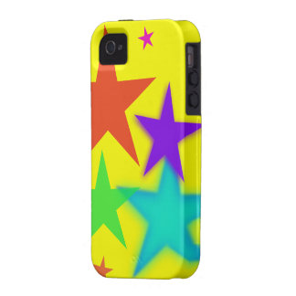 Colorful Stars iPhone 4/4S Hard Case Vibe iPhone 4 Case