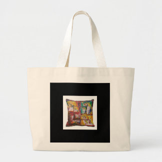 Colorful statue of liberty bag