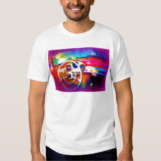 Colorful Steering Wheel T Shirt