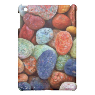 Colorful Stones, Rocks and Pebbles Gifts Cover For The iPad Mini