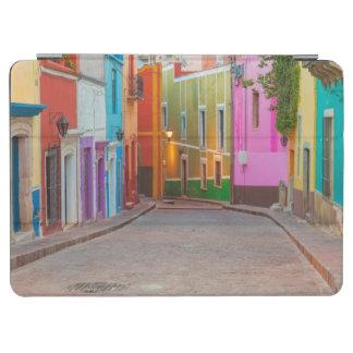 Colorful street scene iPad air cover