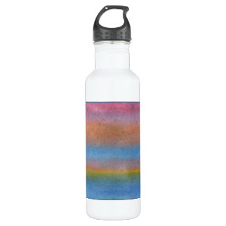 Colorful Striped Abstract. 710 Ml Water Bottle