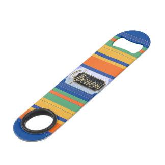 Colorful Striped Keyring Bottle Opener-2