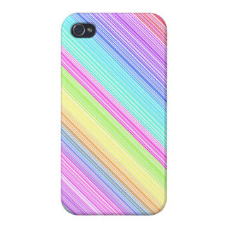 Colorful Stripes iPhone 4/4S Cases