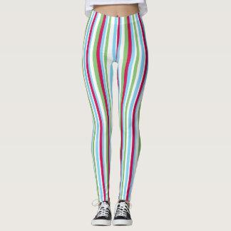 Colorful Stripes Leggings