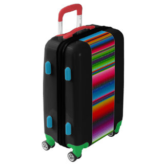 Colorful Stripes Luggage
