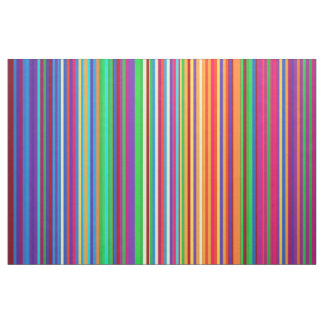 Colorful stripes pattern illustration fabric