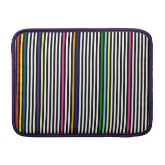 Colorful stripes sleeve for MacBook air
