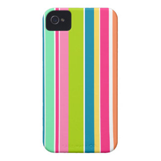 Colorful Stripes; Striped iPhone 4 Cover