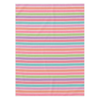 Colorful Stripes table cloth Tablecloth