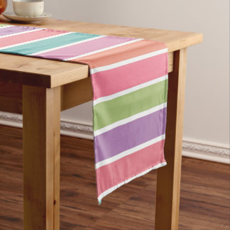 Colorful Stripes table runner