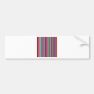 Colorful stripes template add text image graphics bumper sticker