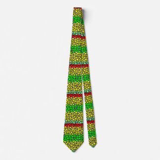 colorful stylish  stained glass tie