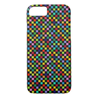 colorful stylish tiles pattern iPhone 7 case