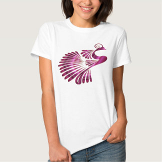 Colorful Stylized Peacock Shirts