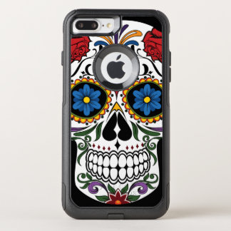 Colorful Sugar Skull Apple iPhone 7 Plus Case