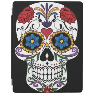 Colorful Sugar Skull iPad Cover