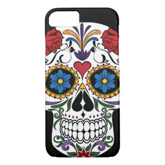 Colorful Sugar Skull iPhone 7 Case