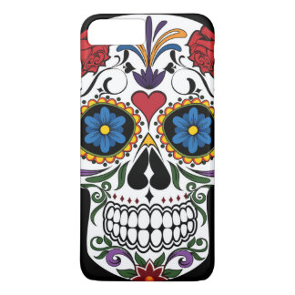 Colorful Sugar Skull iPhone 7 Plus Case