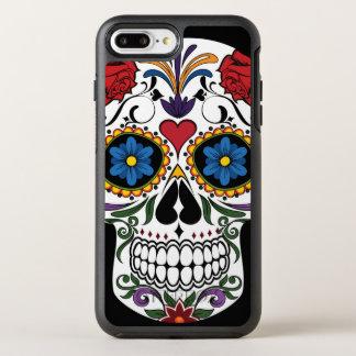 Colorful Sugar Skull OtterBox iPhone 7 Plus Case