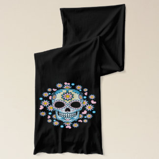 Colorful Sugar Skull Scarf
