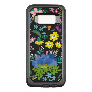 Colorful Summer Flower Pattern OtterBox Commuter Samsung Galaxy S8 Case