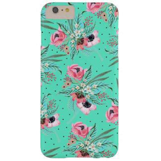 Colorful Summer Flowers - Teal iPhone Case