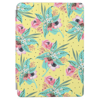 Colorful Summer Flowers Yellow iPad Air Cover